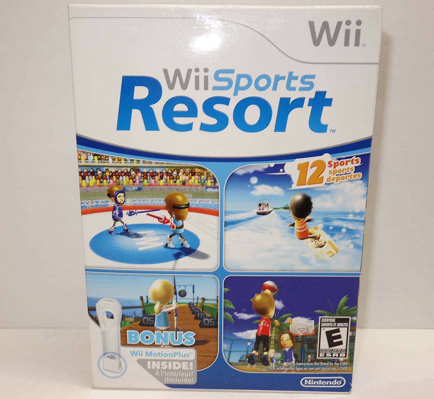 Wii Sports Resort (Wii) with Wii MotionPlus Accessory ...