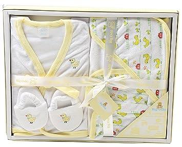 Big Oshi 5-Piece Baby Bathtime Essentials Gift Set - PLK-573 - Yellow 5a9367d62