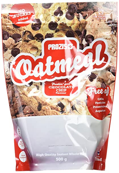 Prozis Oatmeal, Chocolate Chip - 500 gr