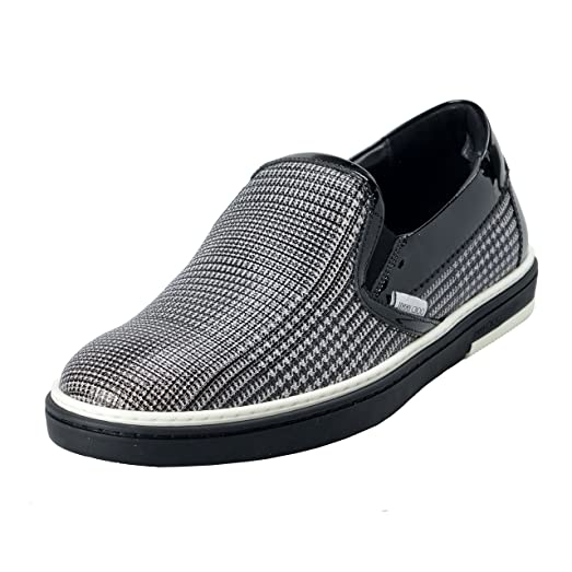 Grove Men's Check Print Loafers Slip On Shoes US 6.5 IT 39.5