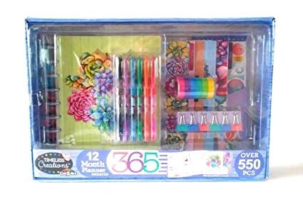 Timeless Creations by Cra-Z-Art 12 Month Planner Kit Over (Undated)