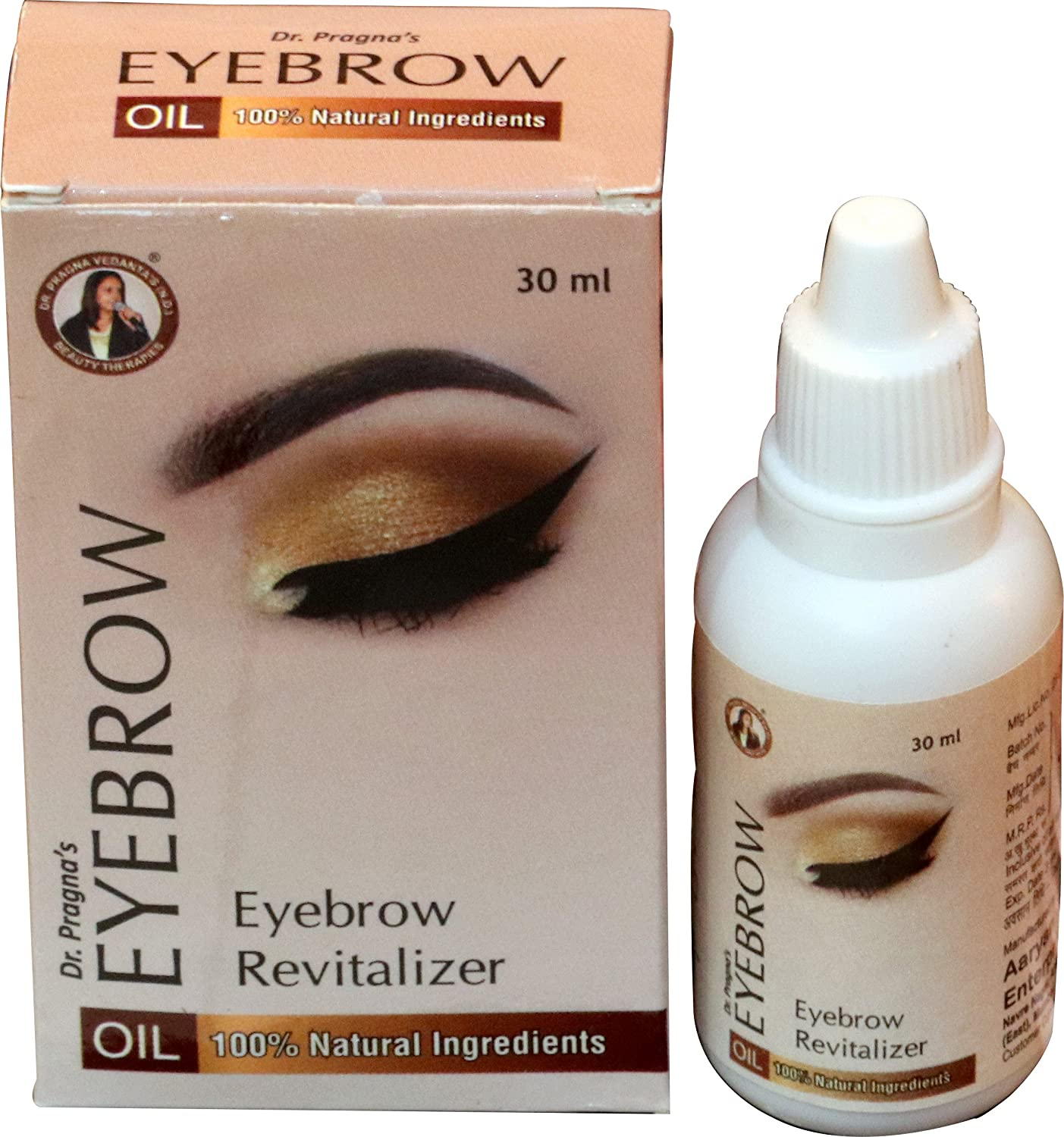 Buy Dr Pragna Vedants Eyebrow Oil 30ml Online At Low Prices In