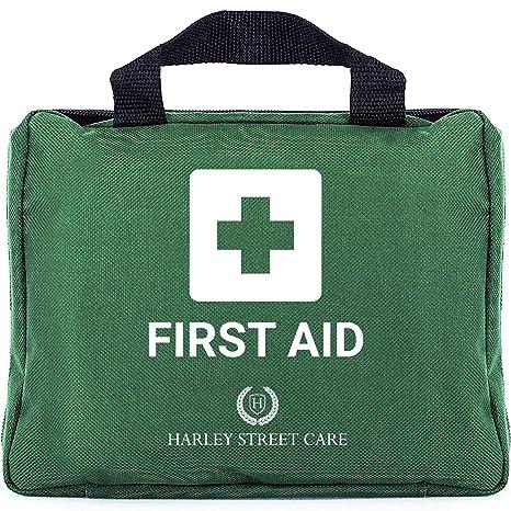 Harley Street Care Kit Profesional de Primeros Auxilios/Kit de Emergencia de 103 Piezas.