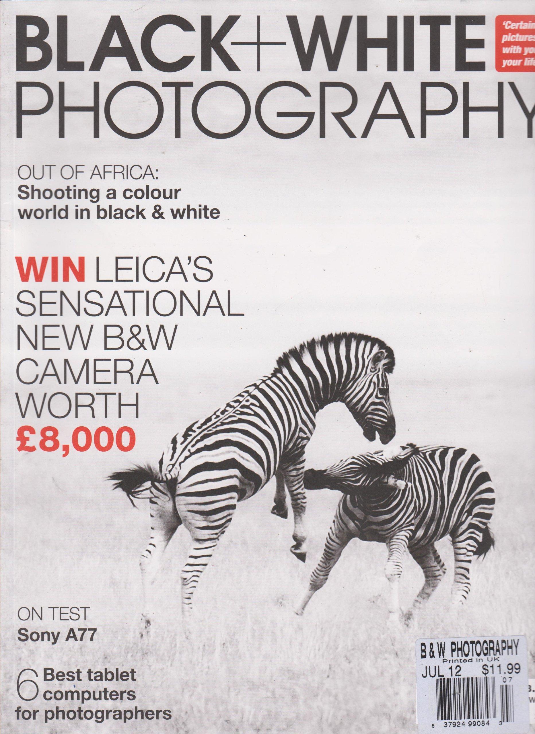 Black + White Photography Magazine (July 2012)