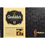 Walkers Shortbread, Glenfiddich, 6 Luxury Mince Pies, 13.1-Ounce Box