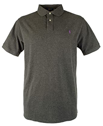 6c9a1ddd11ea Men s Big   Tall Heather Classic Fit Mesh Polo Shirt-GH-3XB. Roll over  image to zoom in. Polo Ralph Lauren