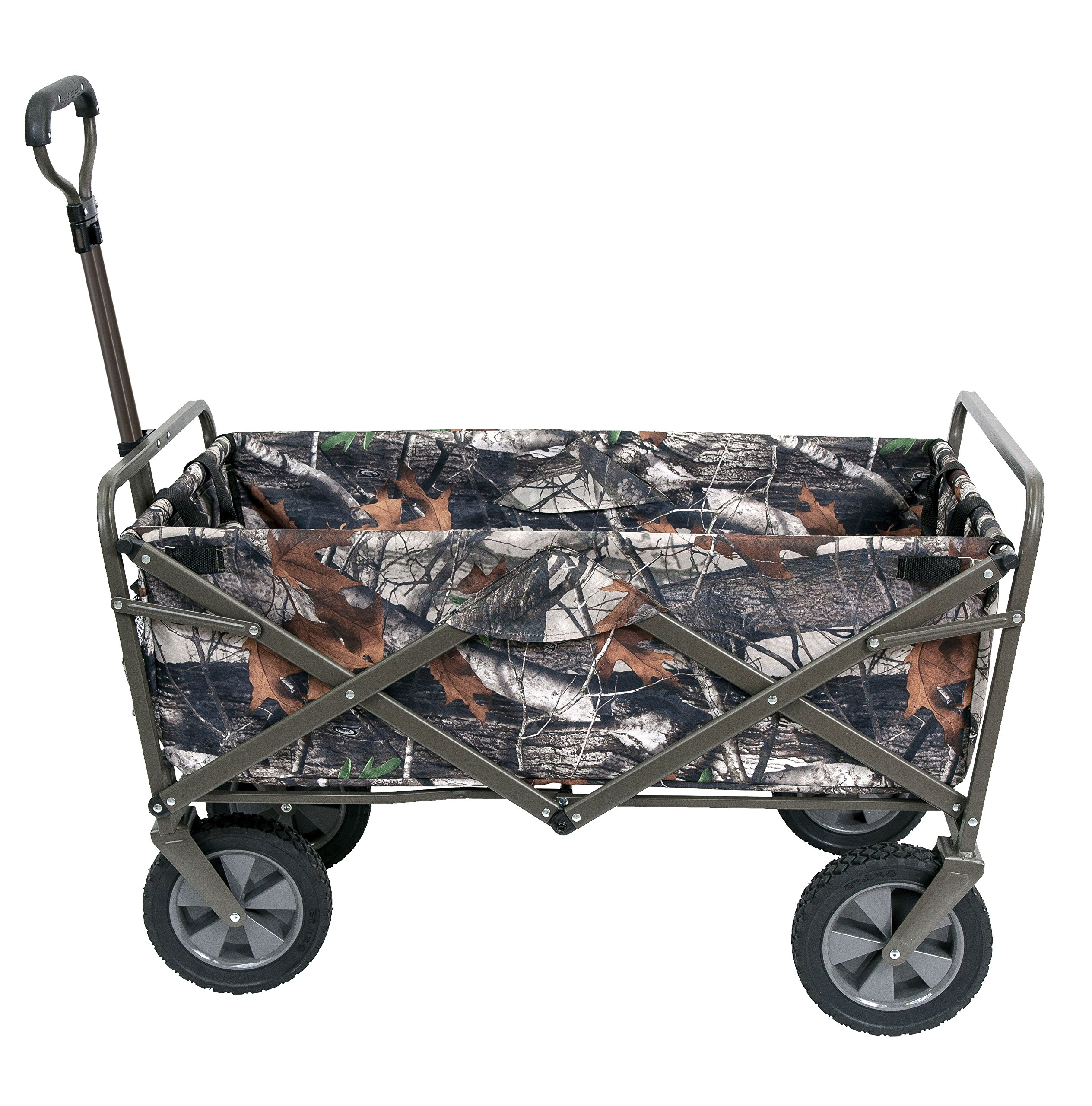 Mac Sports Collapsible Folding Outdoor Utility Wagon, Camo