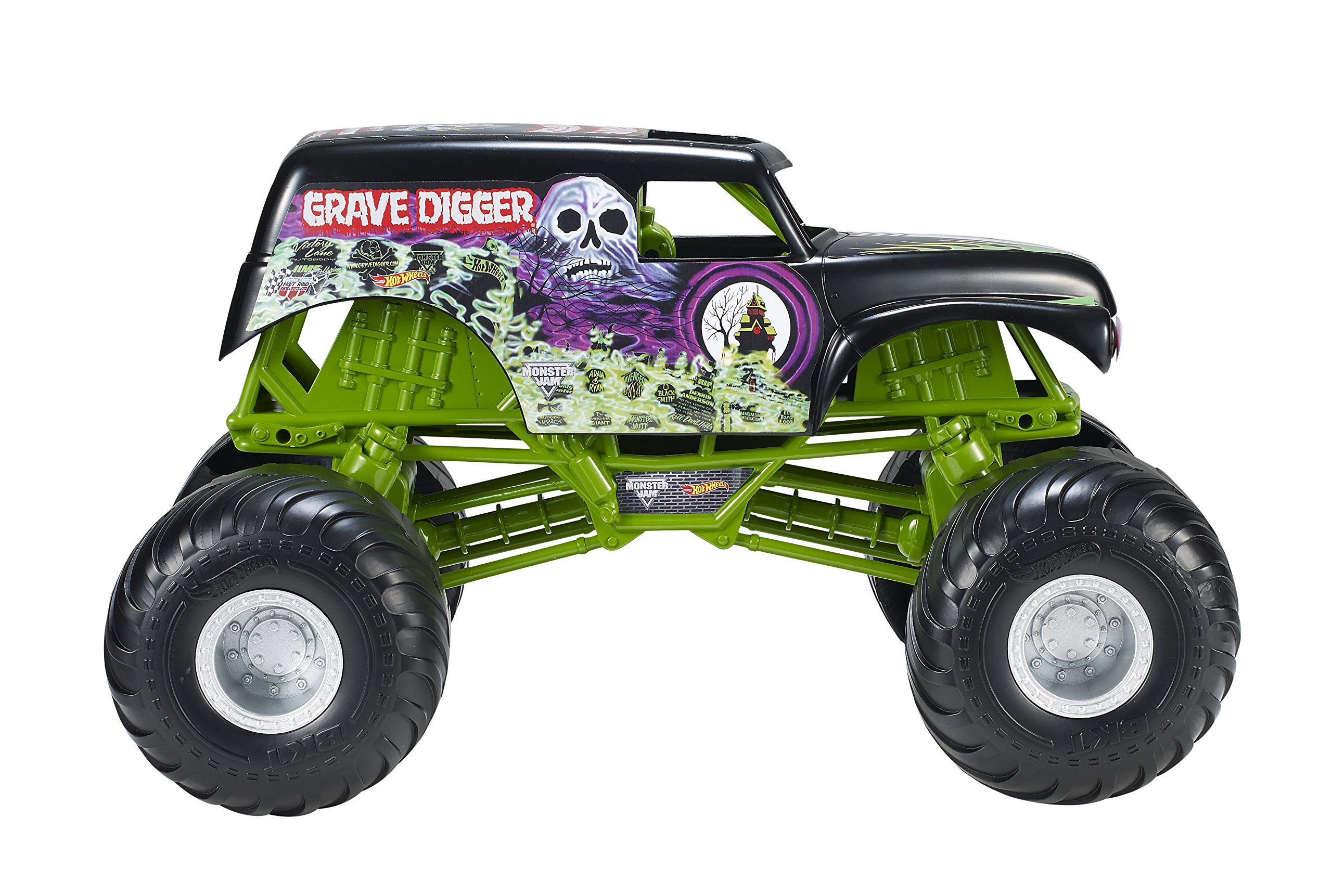 Hot Wheels Monster Jam Giant Grave Digger Truck by Hot Wheels (Image #5)