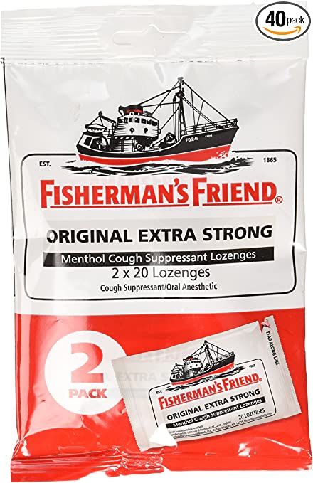 Fishermans Friend Original Extra Strong Drops 40ct