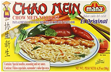 Mama Lycha Mana Chow Mein Noodles, 6.35 Ounce