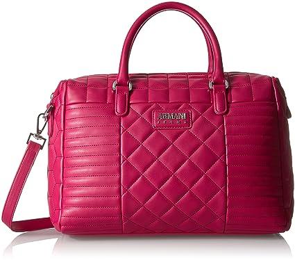 Amazon.com  Armani Jeans Faux Quilted Boston Bag  Clothing 996b966b52ffe