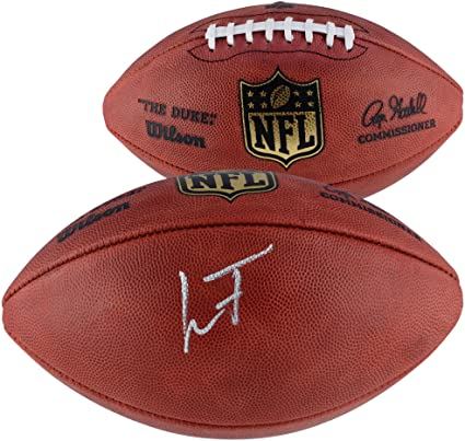 Image Unavailable. Image not available for. Color  Lamar Jackson Baltimore  Ravens Autographed Duke Pro Football - Fanatics Authentic ... 4fea59793