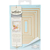 Spellbinders Nest Abilities Hemstitch Rectangles Etched/Wafer Thin Dies