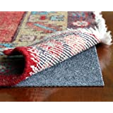 Rug Hold by Rug Pad Central, Runner & Area Rug Pad, Non-Slip Felt & Rubber, Non Skid for Hardwood Floors & Hard Surfaces, Reversible for Rug on Carpet- Made in USA (2'x3')