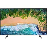 "Samsung UN40NU7100FXZC 40"" 4K Ultra HD Smart LED TV (2018), Charcoal Black [CA Version]"