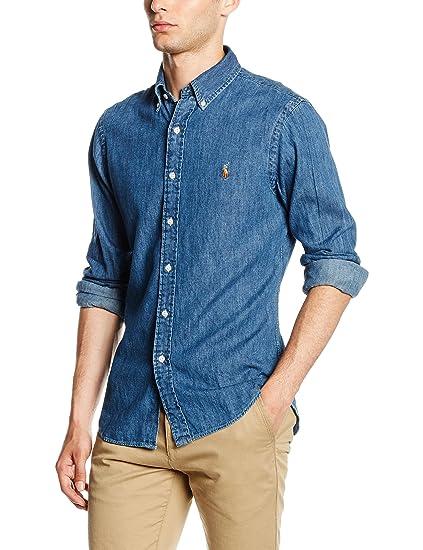 bfdf0ec50444 Polo Ralph Lauren Men s Casual Shirt  Amazon.co.uk  Clothing