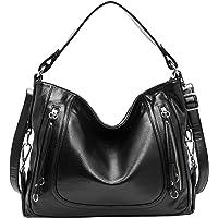 On Clearance! Kenoor Women Leather Top Handle Handbags Shoulder Bags Tote Satchel Crossbody Bag