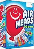 Airheads Bars, Chewy Fruit Taffy Candy, Variety Pack, Back to School for Kids, Non Melting, Party 90 Count (Packaging…