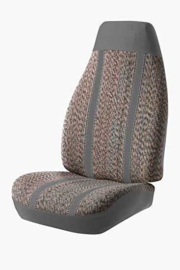 Tweed, Charcoal Fia OE38-7 CHARC Custom Fit Front Seat Cover Bucket Seats