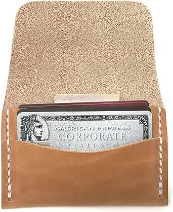 Faler Brand Minimalist Card Case - Minimalist Wickett & Craig Leather Fold Credit Card Wallet