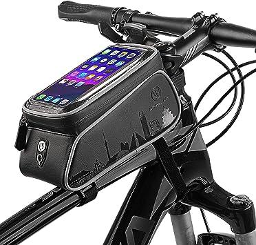 Bolsas para cuadros de bicicletas, pantalla táctil resistente al ...