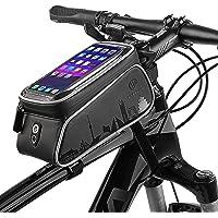 Bolsas para cuadros de bicicletas, pantalla táctil resistente