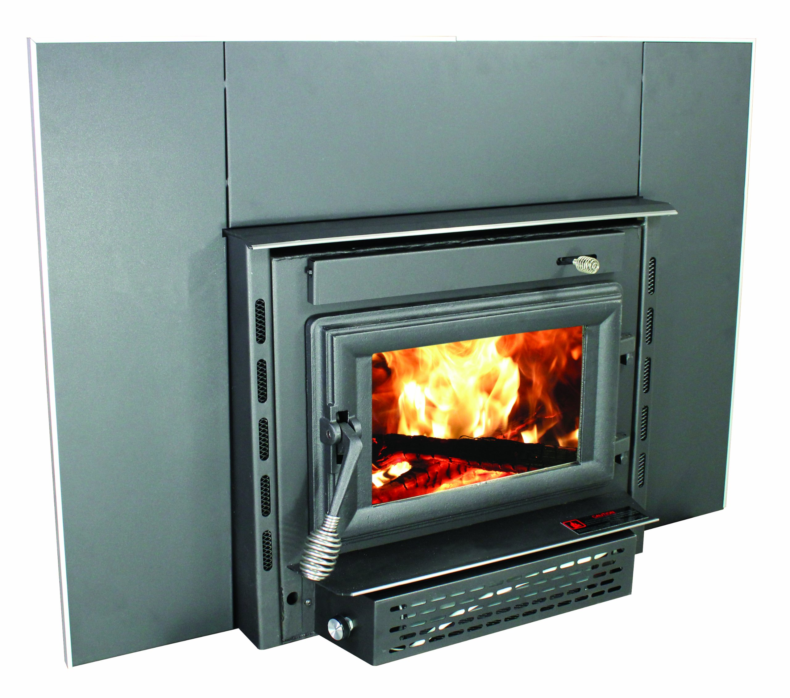 US Stove 2200iE Medium EPA Certified Wood-Burning Fireplace Insert by US Stove Company