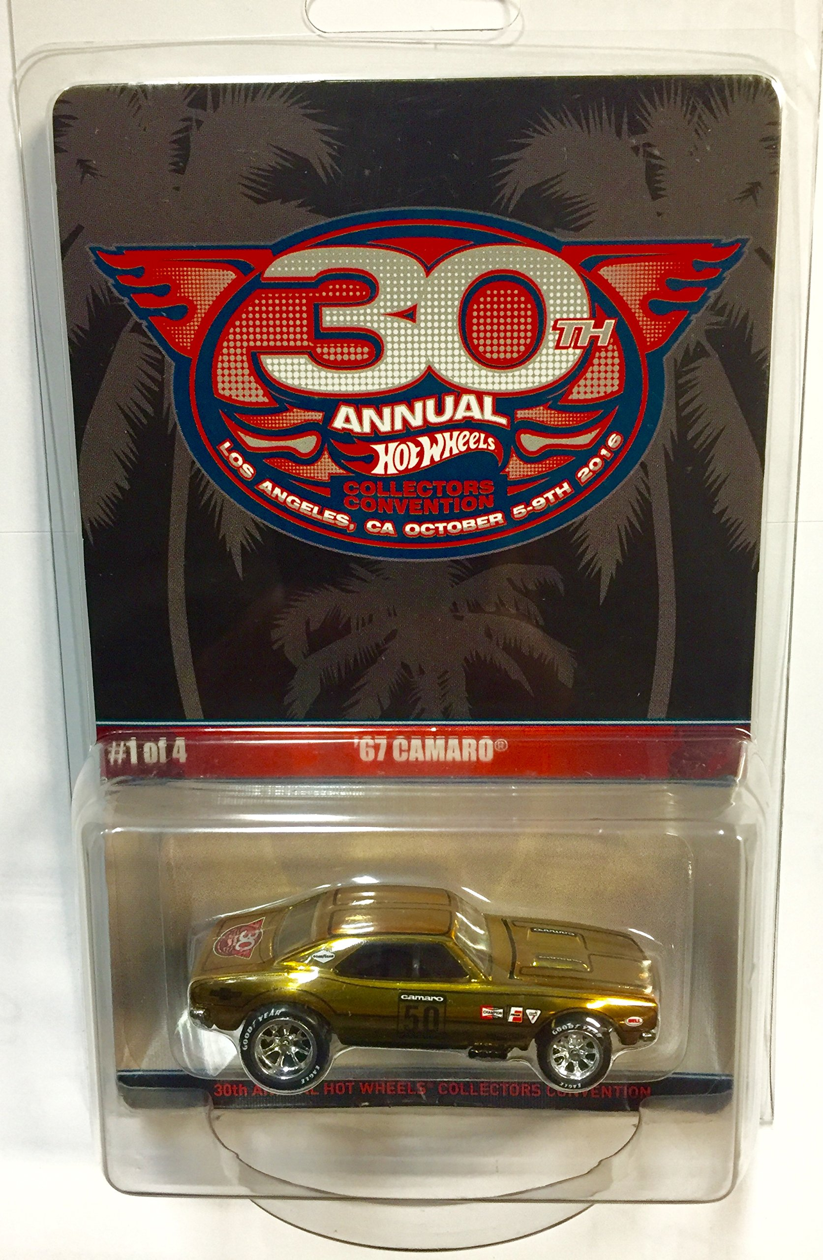 Hot Wheels 30th Annual Collectors Convention '67 Camaro Limited To 2600 Individually Numbered Cars