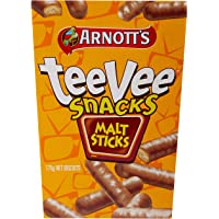 Arnott's TeeVee Snacks Malt Sticks, 175 Grams