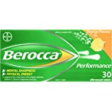 Berocca Energy Vitamin, Orange - 30 Effervescent Tablets