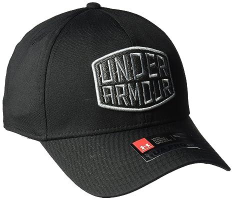 a864879deeb Amazon.com  Under Armour Mens Patch str cap  Sports   Outdoors