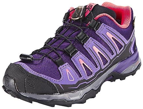 Salomon L39167500, Zapatillas de Senderismo para Niños, Morado (Cosmic Rain Purple/Madder Pi), 31 EU: Amazon.es: Zapatos y complementos