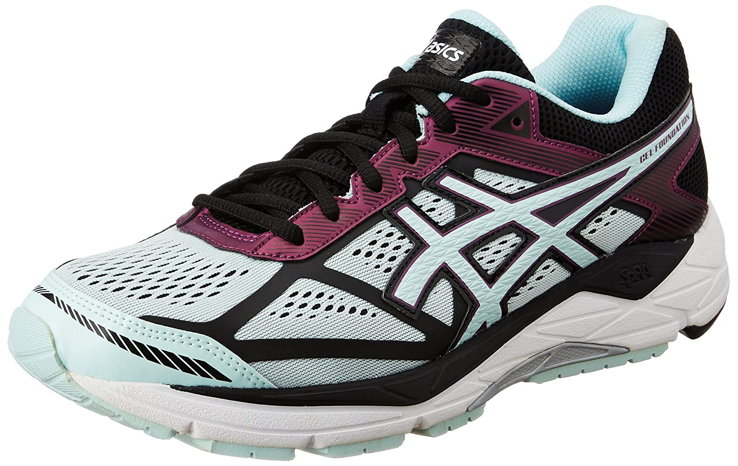 1d6a50a4f7 Asics Women's Gel-Foundation 12 (D) Running Shoes: Amazon.in: Shoes &  Handbags