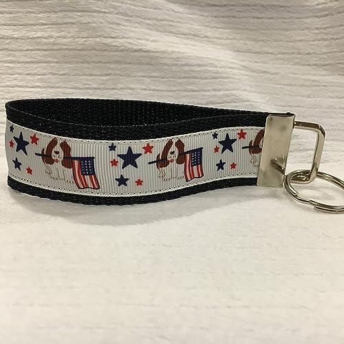 Amazon.com: American Keychain, Patriotic Keychain, Patriotic Gifts, Personalized Keychain, Custom Keychain: Handmade
