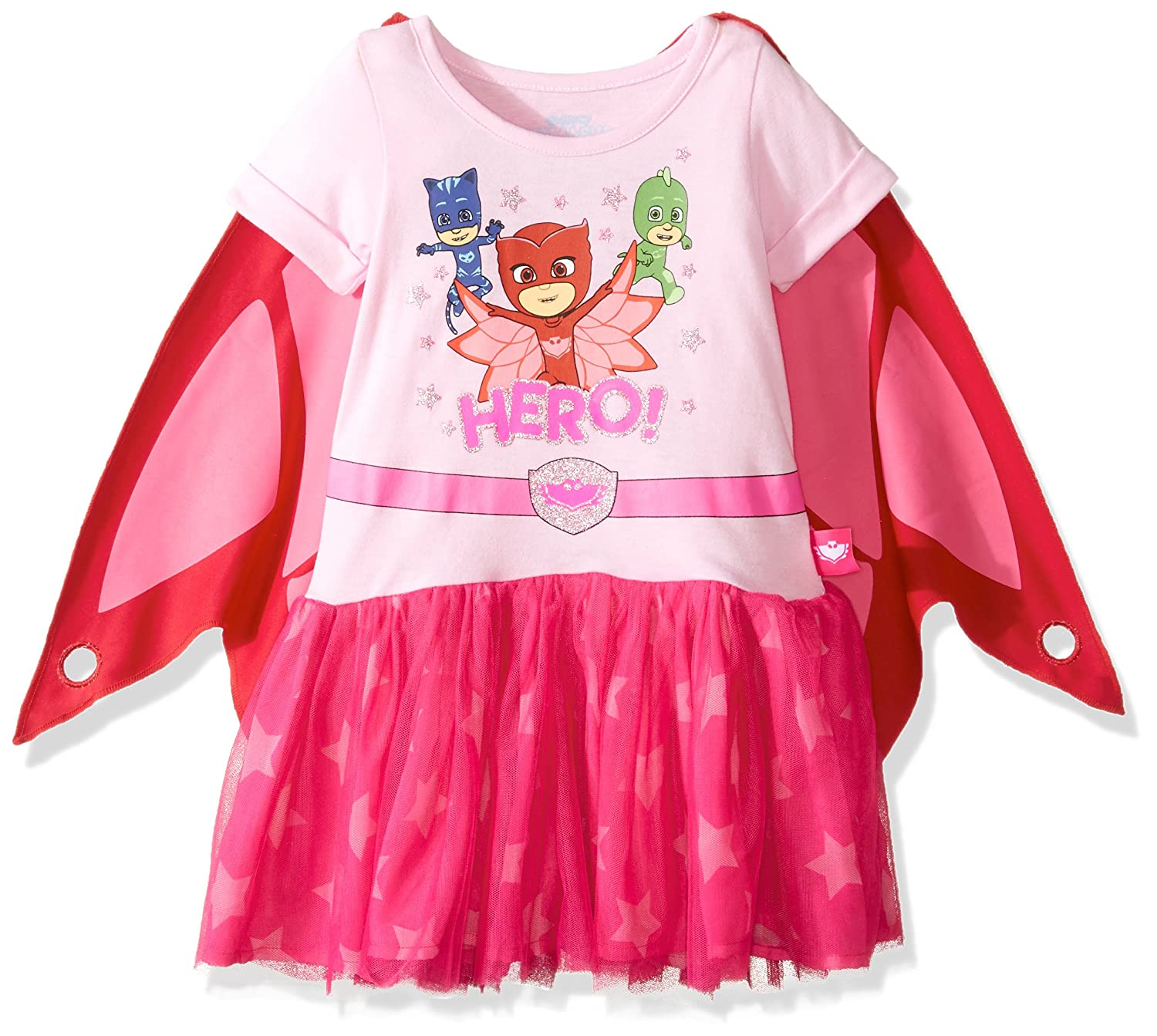 PJ Masks Eva Owlette Tutu Dress With Wings 2T: Amazon.es: Ropa y accesorios