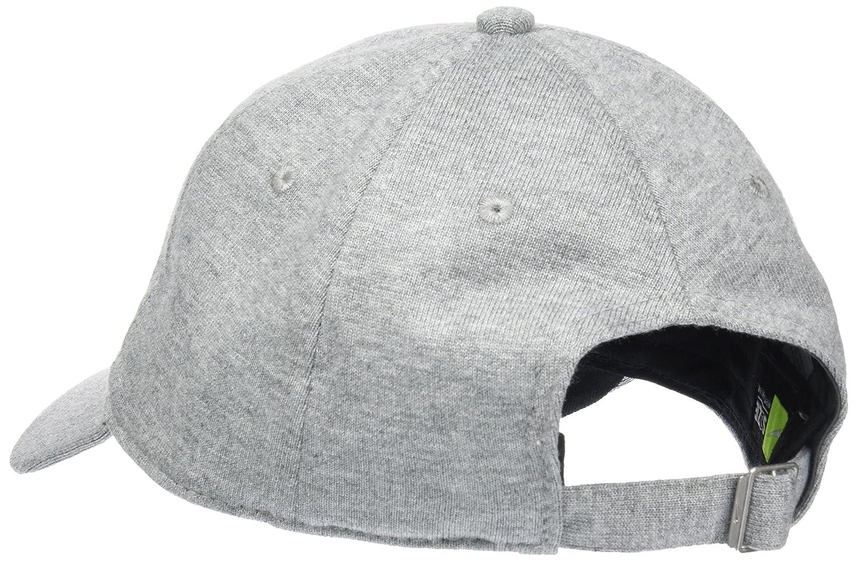 54d333bae7976 Gorra Nike - Sportswear Heritage86 gris plateado negro talla  Ajustable   Amazon.es  Ropa y accesorios