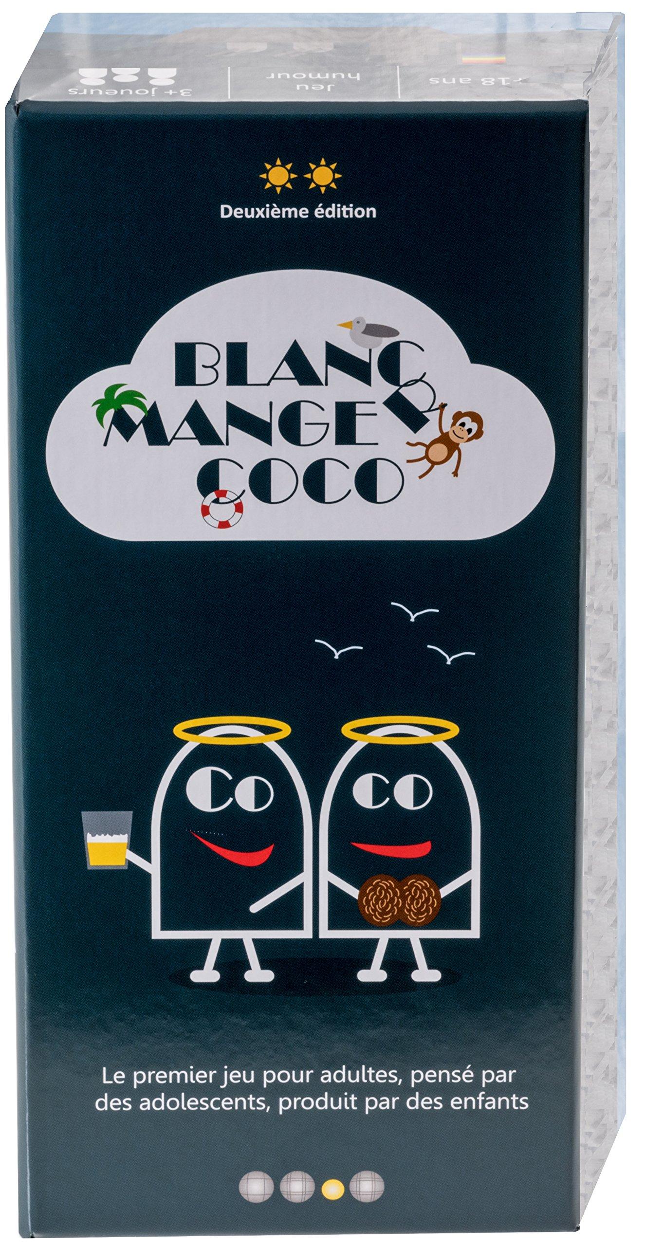 Blanc-Manger Coco - Le 1er jeu pour adultes pensé par des ados, produit par des enfants - 600 cartes product image