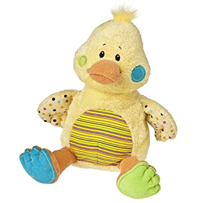 "Mary Meyer Cheery Cheeks Plush Just Ducky 14"": Toys & Games"