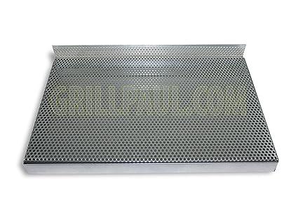 Caja de cenizas parrilla de carbón + para un 60 x 40 cm Barbacoa Parrilla chimenea