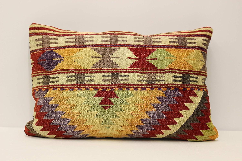 Soft red Pillow,40x60 cm 16x24 inches kilim pillow,carpet pillow,handmade pillow,boho pillow,vintage pillow wool pillow old pillow