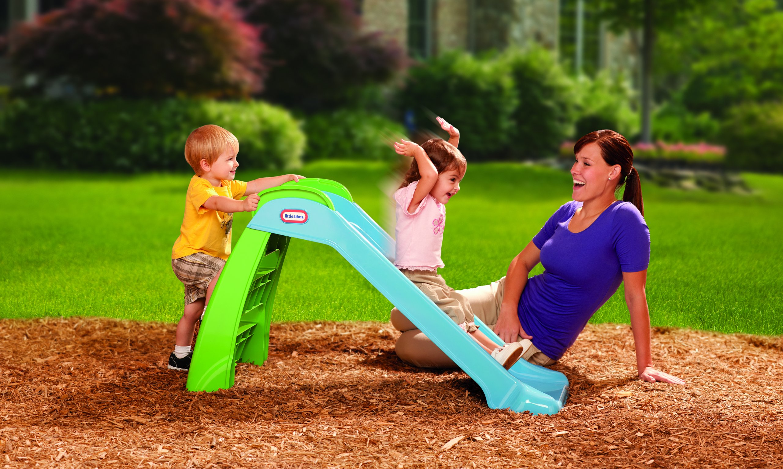 Little Tikes First Slide (Blue/ Green) by Little Tikes (Image #7)