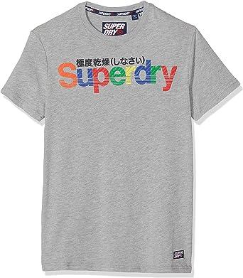 Superdry Retro Sport tee Camiseta para Hombre