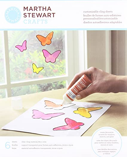 Martha Stewart Crafts Customizable Cling Sheets, 33258