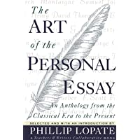 Art of the Personal Essay: An Anthology from the Classical Era to the Present