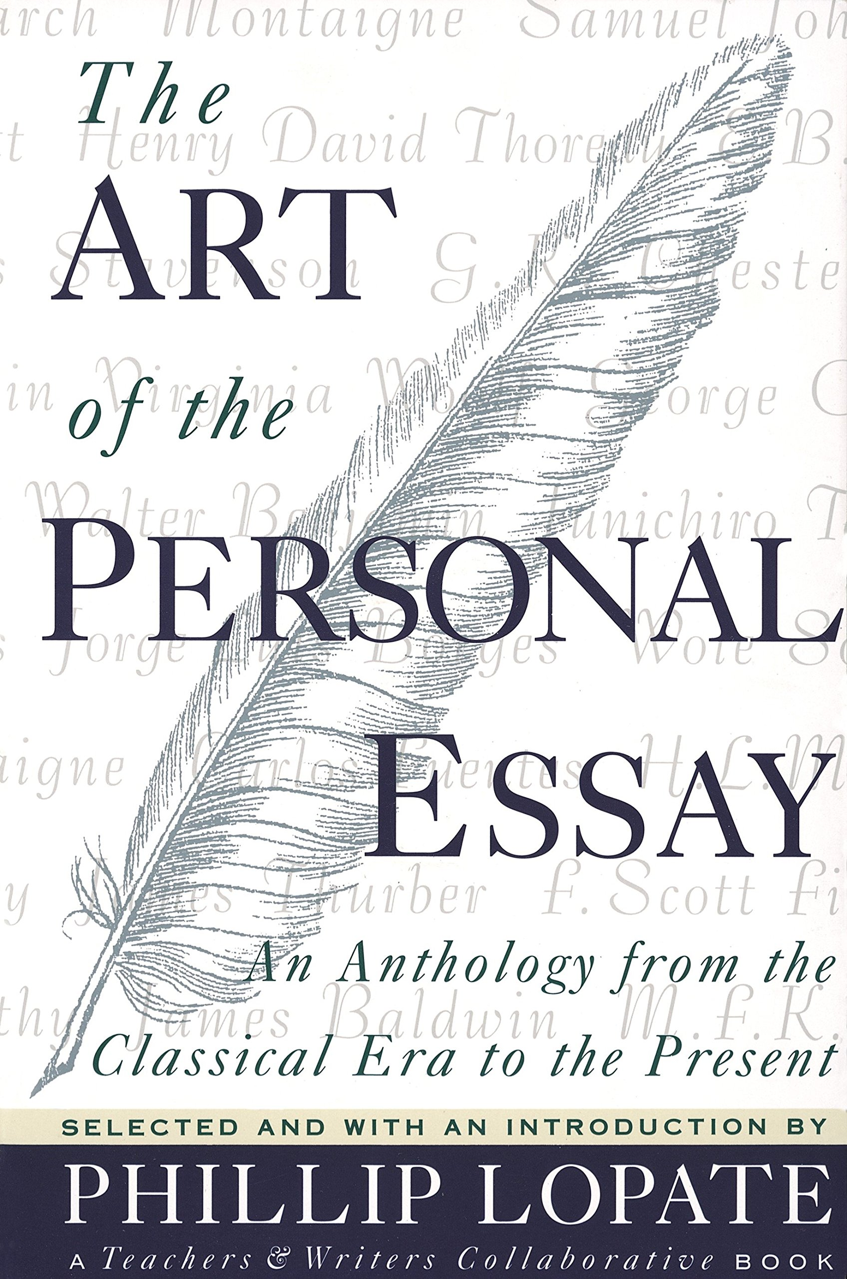 lopate the art of the personal essay