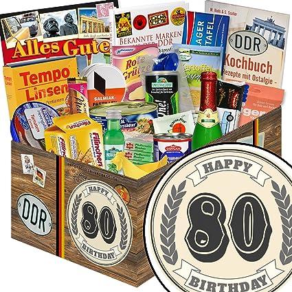 Geschenk Zum 80 Ddr Spezialitaten 80 Geburtstag Geschenke Oma