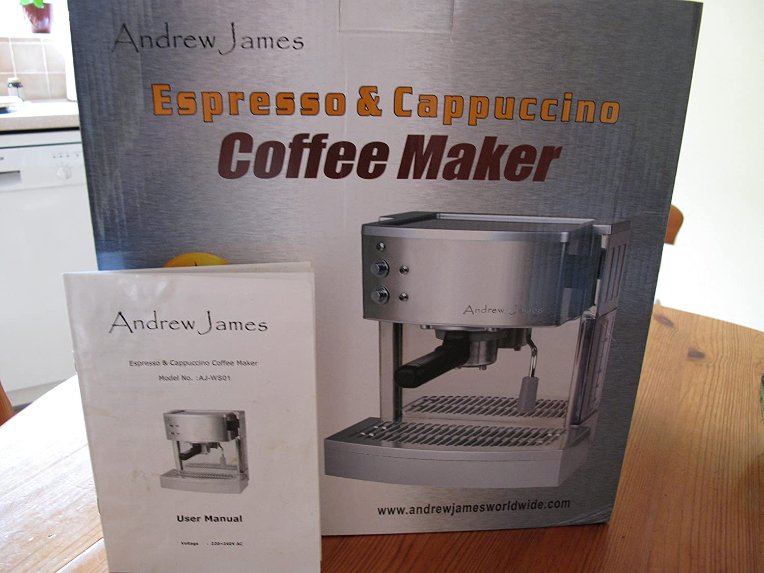 Andrew James Espresso Cappuccino Coffee Maker Machine 15