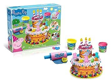 Amazoncom Peppa Pig PEPP003 KidsChildren Birthday Cake Dough