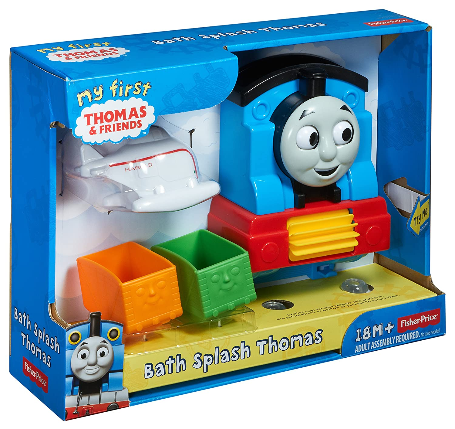 Amazon.com: Thomas & Friends Fisher-Price My First, Bath Splash ...