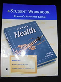 Glencoe health a guide to wellness workbook mcgraw hill glencoe health student workbook teachers edition fandeluxe Images